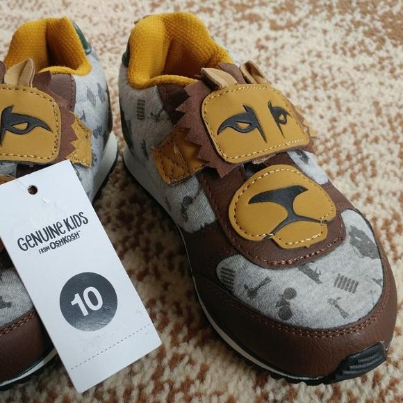 e3da65515243d OshKosh B'gosh Shoes | Nwt Oshkosh Toddler Lion Leather Sneakers Sz ...